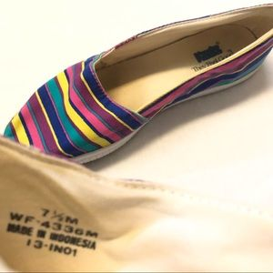Keds striped loafer shoes 7.5